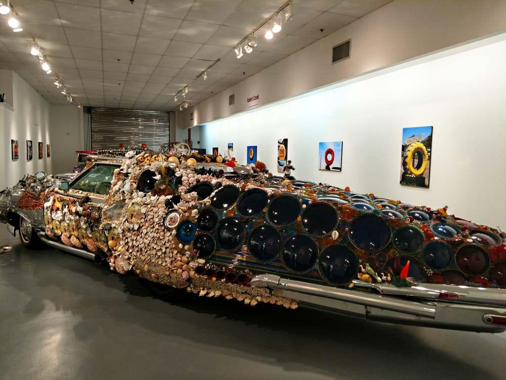 Art Car Museum >> Art Car Museum Artist Sana Shaw